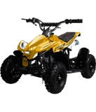 Level Entry 50cc 2 Stroke Air Cooled 3HP Mini Quad - Yellow FREE DELIVERY NATION WIDE - Pocketbike SA