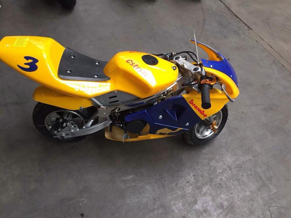 CAG Fairing Kit - Yellow Camel Design - Pocketbike SA