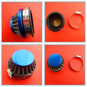 13mm Cone Air Filter + Hose Clamp - Pocketbike SA
