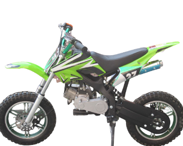 50cc 2 Stroke Air Cooled 3HP Mini Dirt Bike - Green