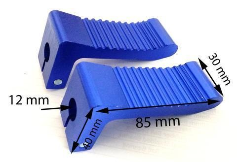 Set Blue Alum Pegs - Pocketbike SA