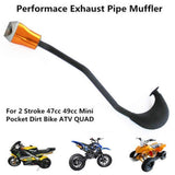 Pocket Bike Exhaust / ATV Quad / Dirt Bike 50cc - Pocketbike SA