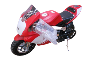 2021 Model Level Entry 50cc 2 Stroke 3HP Pocketbike Red/White (KXD Model) FREE DELIVERY NATION WIDE