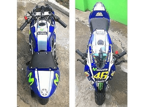Level Entry 2020 #46 Valentino Rossi MotoGP Replica (KXD Model) FREE DELIVERY NATION WIDE - Pocketbike SA