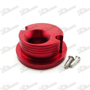 Race Anodized Cone Air Filter Adaptor - Red - Pocketbike SA