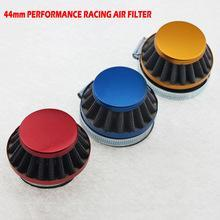 44mm Race Cone Air Filter - Blue, Red, Silver Available - Pocketbike SA