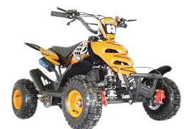 NEW 2021 Model KXD 3HP 50cc Mini Quad - (Orange) FREE DELIVERY NATION WIDE