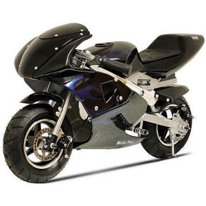 50cc 2 Stroke Air Cooled 3HP Pocketbike - Black (Cag Model) FREE DELIVERY  NATION WIDE