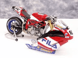 Model Bike 1:12 Minichamps #100 Neil Hodgson Fila Ducati 999R F03 WSB