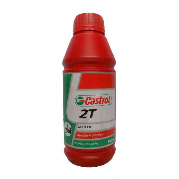 500ml Castrol 2 Stroke Motorcycle Oil