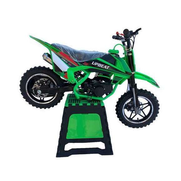 Upbeat Dirt Bike Stand - Green - Pocketbike SA