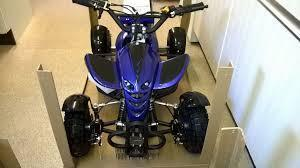 Black & Blue Mini Quad Fairing Kit - Pocketbike SA