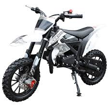 NEW SYX MOTO 2021 Model Level Entry 50cc 2 Stroke 3HP Dirt Bike - Black & White FREE DELIVERY NATION WIDE