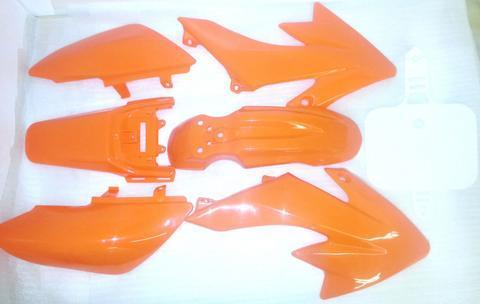 50cc Orion Fairing Kit - Orange - Pocketbike SA