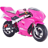 Level Entry 50cc 2 Stroke Air-Cooled Petrol Driven 3HP Pocketbike - Pink (Cag Model) FREE DELIVERY NATION WIDE - Pocketbike SA
