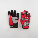 Kiddies PeeWee Gloves  -Red