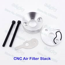 CNC Air Filter Stack Set - Aftermarket Kit - Pocketbike SA