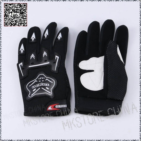 Kiddies PeeWee Gloves - Black - Pocketbike SA