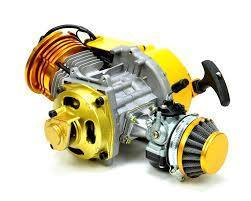 54cc Race Spec Engine (Yellow) - Pocketbike SA