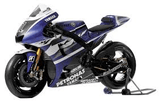 Model Bike 1:18 Maisto #1 Yamaha Factory Racing