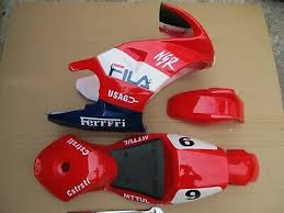 Red FILA CAG Fairing Kit