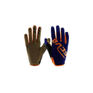 Kids Blue Gloves SCV8 Design - Pocketbike SA