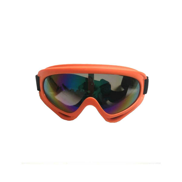 Kids Motocross Goggles - Orange - Pocketbike SA