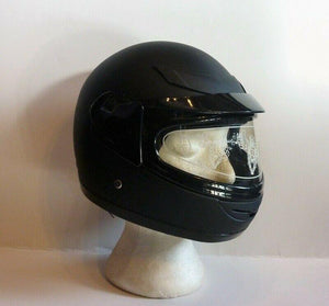 Kids Helmet Matt Black - Pocketbike SA