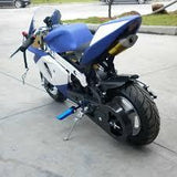 KXD Fairing Kit - Blue / White