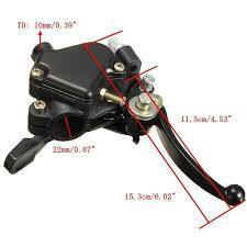 Quad Thumb Throttle + Speed Governor + Hand Brake Function