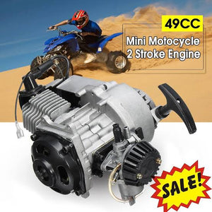 Standard 50cc 2 Stroke Air Cooled Petrol Driven Automatic Pocket Bike Engine (3HP) - Pocketbike SA