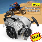 Standard 50cc 2 Stroke Air Cooled Petrol Driven Automatic Pocket Bike Engine (3HP)