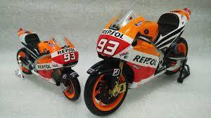 Model Bike 1:12 Minichamps #93 Marc Marquez Repsol Honda RC213V 2013 - Pocketbike SA
