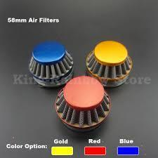 60mm Race Cone Air Filter - Blue, Yellow, Red, Silver Available - Pocketbike SA