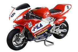 Basic Ducati FILA Sticker Kit (Small pack) - Pocketbike SA