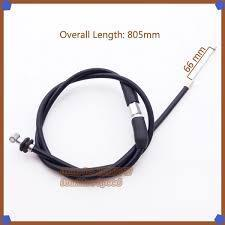 Quad Accelerator Cable 805mm (739mm+66mm) - Pocketbike SA