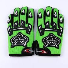 Kiddies PeeWee Gloves - Green - Pocketbike SA