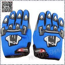 Kiddies PeeWee Gloves - Blue - Pocketbike SA