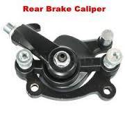 SET Black Brake Caliper + Brake Pads - Pocketbike SA