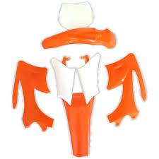 Dirt Bike Fairing Kit - Orange - Pocketbike SA