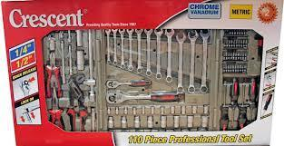 SPECIAL = 110PC Crescent Professional Tool Set - Pocketbike SA
