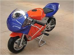 Level Entry 50cc 2 Stroke Air Cooled 3HP Pocketbike - Blue / Orange (Cag Model) FREE DELIVERY NATION WIDE - Pocketbike SA