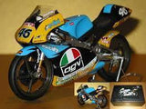 Model Bike 1:12 Minichamps #46 Valentino Rossi Aprilia 125cc (1st Race Bike in Career) - Pocketbike SA