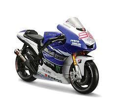 Model Bike 1:18 #99 Jorge Lorenzo - Yamaha