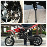 Level Entry 50cc 2 Stroke Air-Cooled 3HP Dirt Bike - Red & Black FREE DELIVERY NATION WIDE - Pocketbike SA