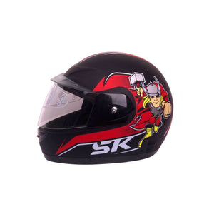 Kids Helmet - Red Thor - Pocketbike SA