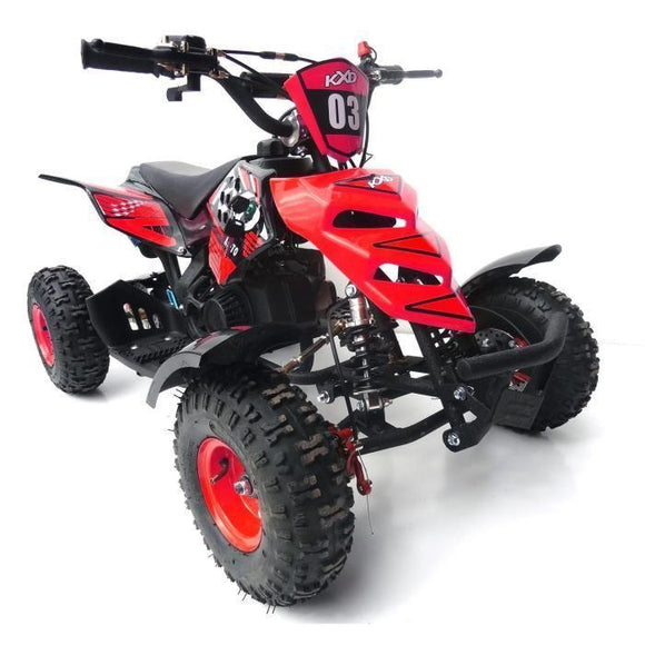 NEW 2020 Model KXD 3HP 50cc Mini Quad - (Red) FREE DELIVERY NATION WIDE