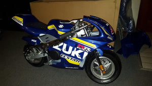 Suzuki Ecstar Sticker Kit - Pocketbike SA