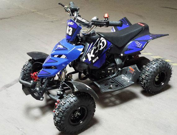NEW 2020 Model KXD 3HP 50cc Mini Quad - (Blue) FREE DELIVERY NATION WIDE