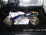 Model Bike 1:12 Minichamps Honda NSR500 E. Lawson GP 1989